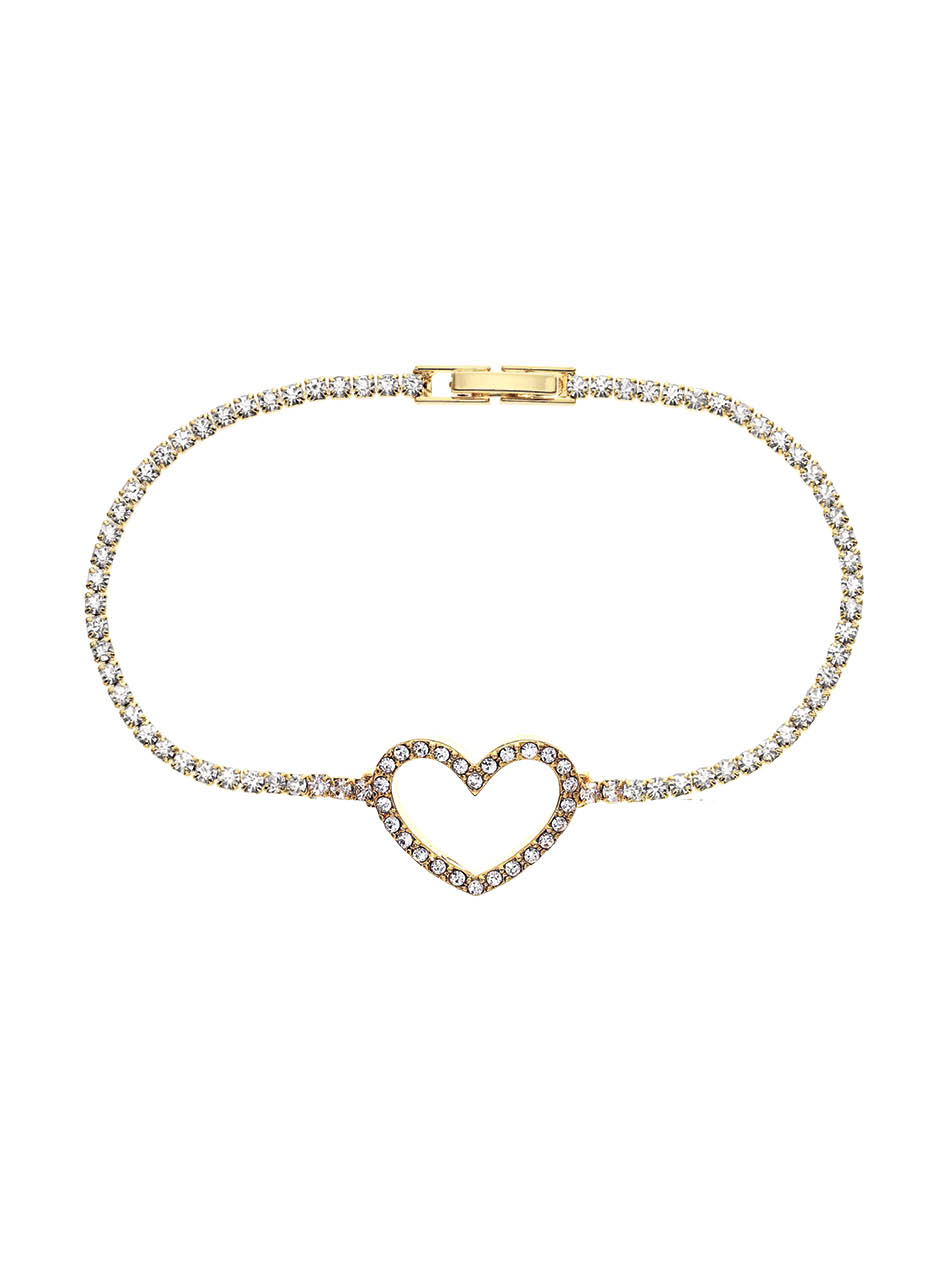 LOVE AFFAIRE Armband gelb, weiß